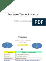 Processos Termodinâmicos Aula 3