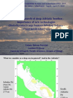 Biological research of deep Adriatic benthos - importance of new technologies