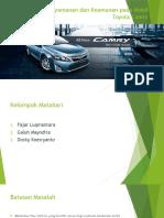 Fitur Kenyamanan pada Mobil Toyota Camry.pptx