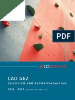 CAO GGZ Nederland 2015-2017