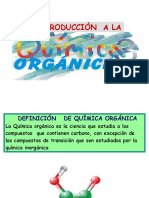 SESION N° 01 INTRODUCCION A QUIMICA ORGANICA