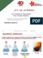 04 Q2 Equilibrio Químico Completo