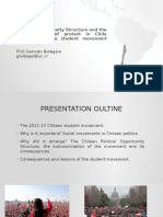Presentation POS and the Chilean Student Movement