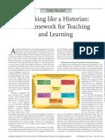 Thinking Like a Historian