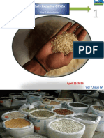 15th April,2016 Daily Exclusive ORYZA Rice E-Newsletter by Riceplus Magazine