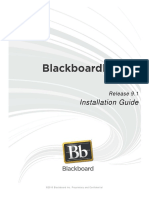 Blackboard Learn 9.1 Installation Guide - Versão Desactualizada!!!