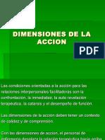 Dimensiones de La Accion