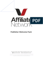 Publisher Welcome Pack
