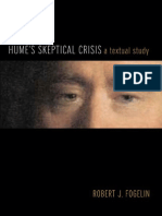Robert J. Fogelin-Hume's Skeptical Crisis_ a Textual Study-Oxford University Press, USA (2009)