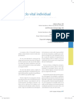 El Ciclo Vital Individual (Por Rojas, Katterine., Gómez Urrego, José Fernando y Pazos Serna, Víctor Manuel)