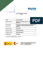 Proyecto de Agua Potable Espña Pog-slv-001-b