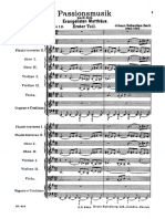 Bach Passione Secondo Matteo