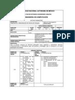 Organización Administración Centros Computo