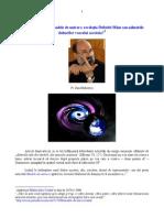 Pr. Dan Bădulescu Modele de univers