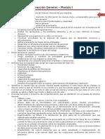 Resumen Modulo 1 direccion general