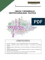 CS16 Guía 7 Democracia y Desarrollo. Institucionalidad Política