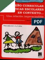 Mendez de Segui - Diseño Curricular y Prácticas Escolares - Cap 3 y 4