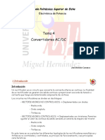 Convertidores ACDC