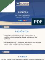 MECANICA VECTORIAL   SEMANA  1   FUERZAS   2015-0.pptx