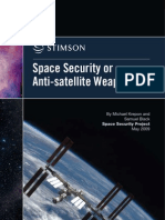 Space Security or Anti-Satellite Weapons