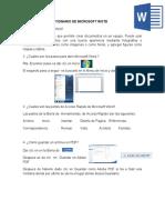 Cuestionario de microsoft word y openoffice writer