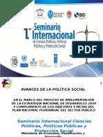 Conferencia «Políticas Públicas y Estrategia Nacional de Desarrollo (END)