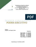 Constitucional Poder Ejecutivo Venezolano
