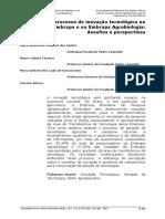 1482-5578-1-PB El Proceso de Inovacion Na Embrapa, Perspectivas