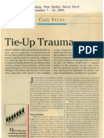 20 Tie-Up Trauma
