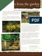 Fockele Spring Newsletter 2016