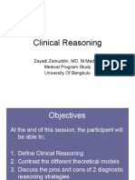 Clinical Reasoning FCP