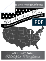 The 17 Annual White Privilege Conference | http://www.thefederalistpapers.org/