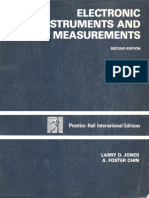 Electronic instruments and measurements