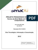 Projeto pedagígico Tecnico Em Redes
