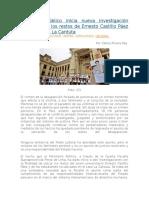 Ministerio Público Inicia Nueva Investigación Para Dar Con Los Restos de Ernesto Castillo Páez y Estudiantes La Cantuta