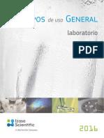 Catálogo de Equipos de Uso General 2016-Izasa