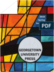 Georgetown University Press New Books for Spring/Summer 2016