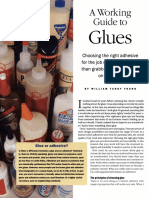 Fine Wood Working - issue 134 - a working guide to glues