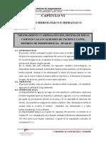 CAPÍTULO VI. Estudio Hidrológico e Hidráulico. Ok