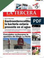 Diario La Tercera 15.04.2016