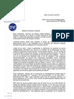 DNF cendriers biodégradables lettre ouverte aux députés