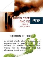 Carbon credits, INDC and India.pptx