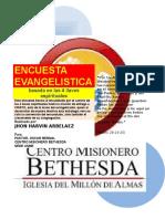 ENCUESTA EVANGELISTICA