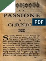 Guido Casoni. La Passione Di Christo. 1626 (calligrammi)
