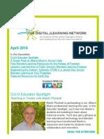 DJLN April 2016 Newsletter
