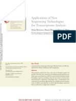 Applications of New Sequencing Technologies for Transcriptome Analysis