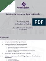 Présentation Wali BAM Au CNE CGEM Agadir 02 04 2016