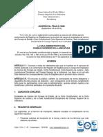 Acuerdo 10228 de 2014 (Convocatoria a Concurso de Empleados de Carrera de Las Altas Cortes) (1)