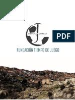 Presentación Fundación Tiempo de Juego
