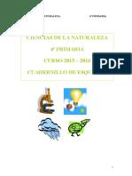 Ciencias de La Naturaleza - 4º Primaria - Esquemas